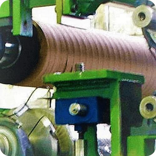 Tope regulador de tren laminador