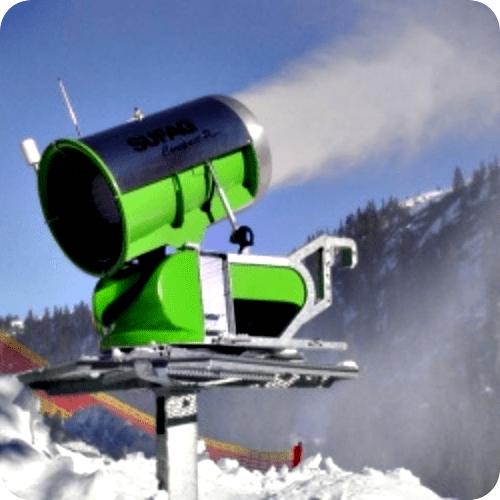 Sistema de inclinación de Cañón de Nieve